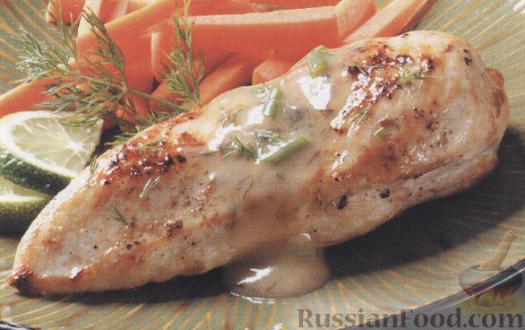 Рецепт Курица в масле с лаймом