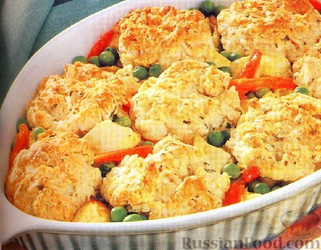 Рецепт Курица с бисквитами