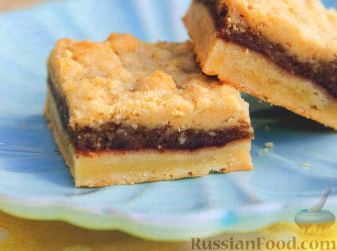 Рецепт Печенье с малиной и фундуком