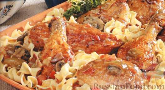 Рецепт Курица по-деревенски