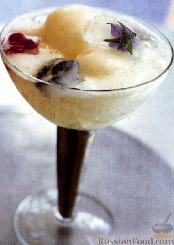 Рецепт Шипучий коктейль Джин и Лимон (Gin and Lemon Fizz)