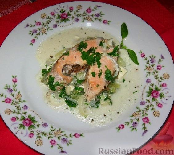 Рецепт Горбуша с огурцами