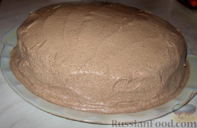 Чем смазать торт сверху в домашних условиях