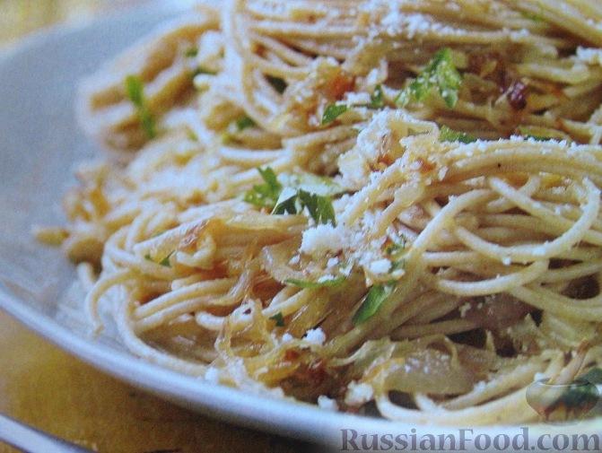 рецепт итальянских спагетти с фото