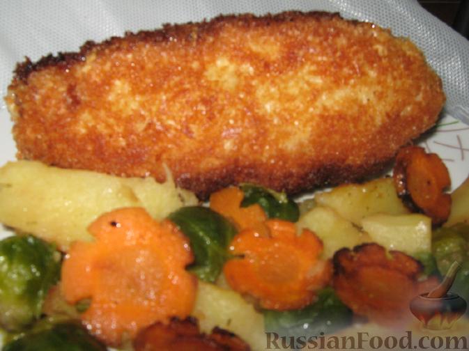 котлета по киевски из курицы рецепт с фото