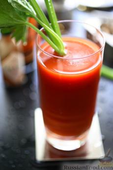Рецепт Коктейль Кровавая Мери (Bloody Mary)