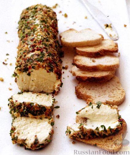 Рецепт Пряный сыр с орехами