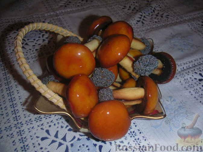 Печенье грибочки во фритюре рецепт с фото