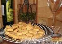Фото к рецепту: Масляное печенье под белое вино - душа поет