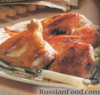 Фото к рецепту: Курица с медом