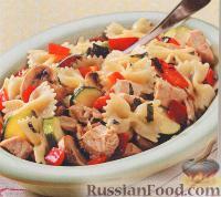 """Фото к рецепту: """"Таксидо"""" с курицей, грибами и овощами"""