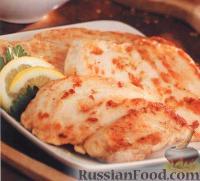 Фото к рецепту: Пикката из курицы