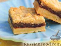 Фото к рецепту: Печенье с малиной и фундуком