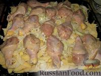 """Фото приготовления рецепта: Слоеная картошка """"На все случаи жизни"""" - шаг №5"""