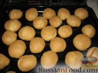 Фото приготовления рецепта: Профитроли (заварные пирожные) - шаг №4
