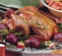 Фото к рецепту: Курица, жаренная по-деревенски