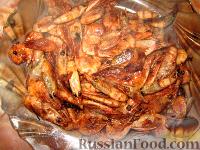 Фото к рецепту: Креветки к пиву (жареные)
