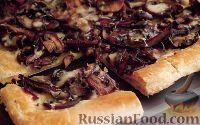 Фото к рецепту: Пирог с жареными грибами
