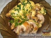 Фото к рецепту: Рулетики с грибами