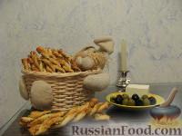 Фото приготовления рецепта: Палочки с тапенадой - шаг №6