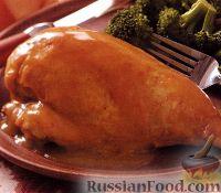 Фото к рецепту: Куриные грудки с медом и карри
