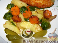 Фото к рецепту: Овощной гарнир