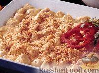 Фото к рецепту: Курятина со сметаной и крекерами