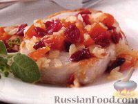 Фото к рецепту: Куриное филе с яблоками и сыром