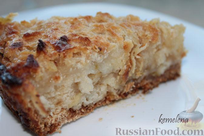 Рецепт Насыпной яблочный пирог - 2 вариант