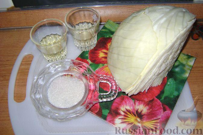 салат из капусты с уксусом видео рецепт