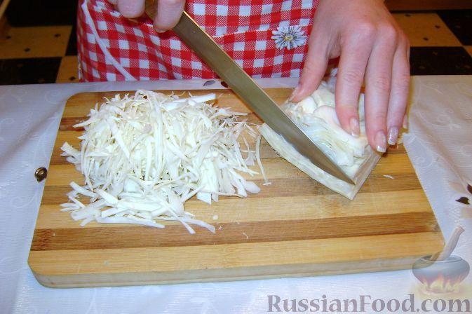 Рецепт приготовления салатов из свежей капусты