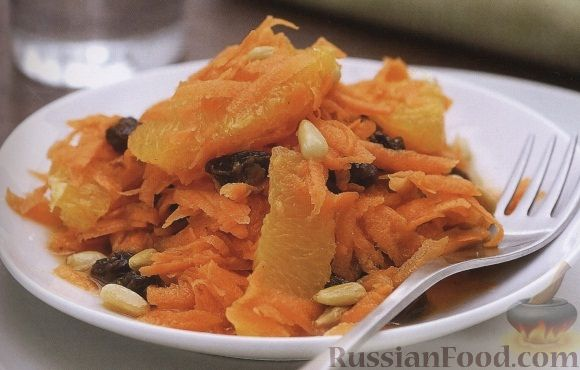 Рецепт Марокканский салат