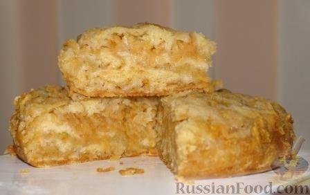 Рецепт Сухой яблочный пирог