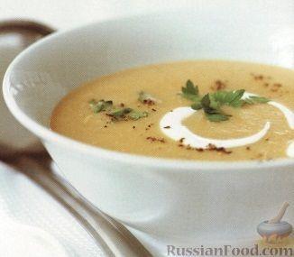 Рецепт Картофельный суп-пюре с курятиной