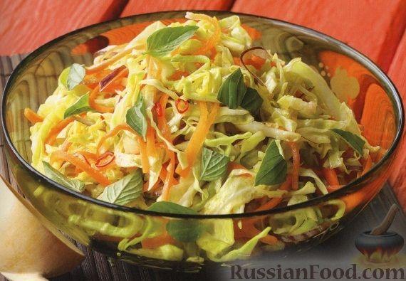 Рецепт Маринованный овощной салат