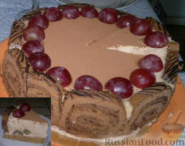 Рецепт Торт-суфле без выпечки