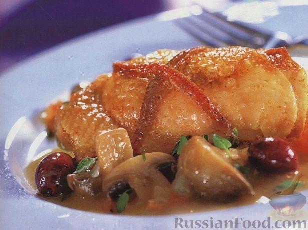 Рецепт Курица по-провансальски