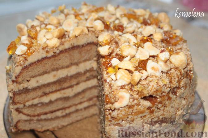 рецепт бисквит с фундуковой метлой