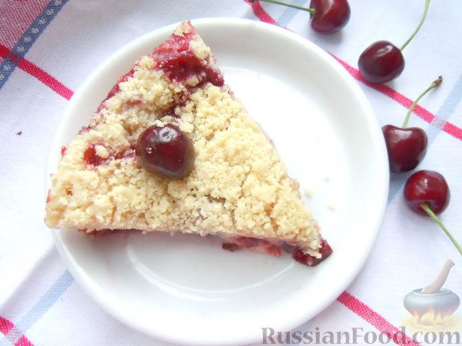 Рецепт Черешневый пирог