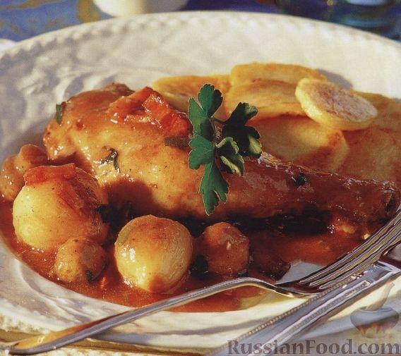 Рецепт Куриные голени с ароматным соусом