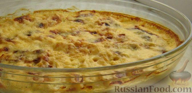 Рецепт Картофель, запеченный в духовке с сыром
