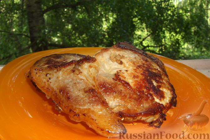 Рецепт Жареная свиная корейка