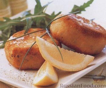 Рецепт Картофельно-рыбные котлеты
