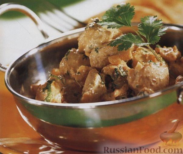 Рецепт Куриное филе со сливочной подливкой
