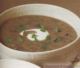 Рецепт Картофельно-грибной суп-пюре