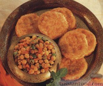Рецепт Нут с картофельными котлетами