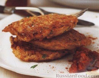 Рецепт Картофельно-рисовые оладьи