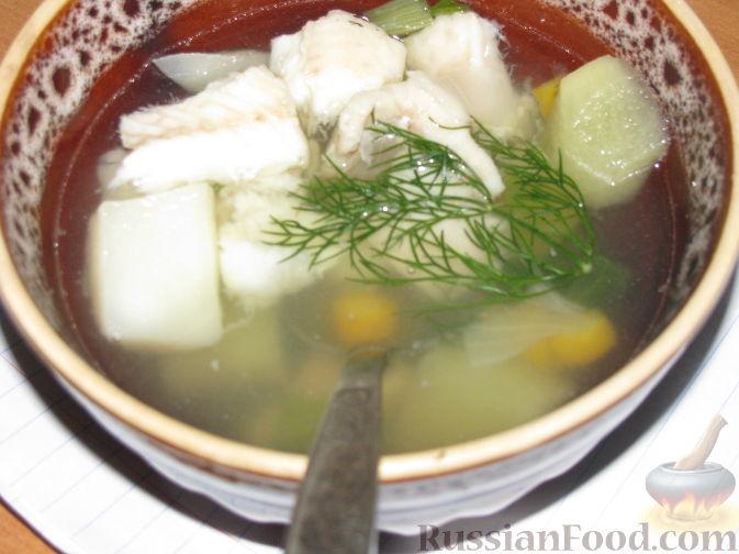 рецепт скандинавский рыбный суп из