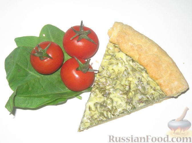Рецепт Творожный пирог со щавелем