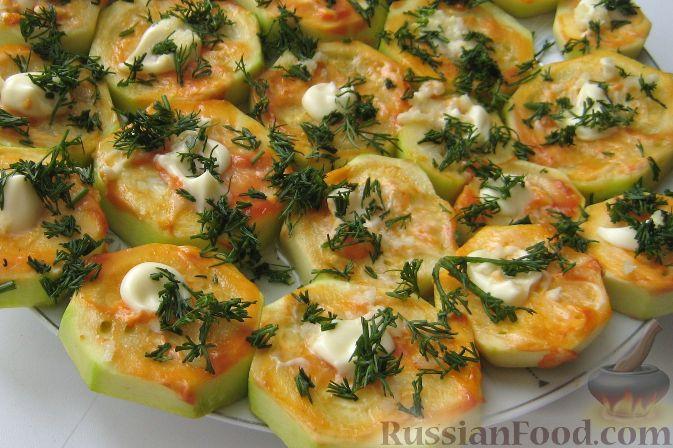 Рецепт Кабачки, печенные в духовке